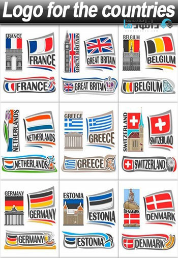 Logo for the countries Icon دانلود آیکون Logo countries