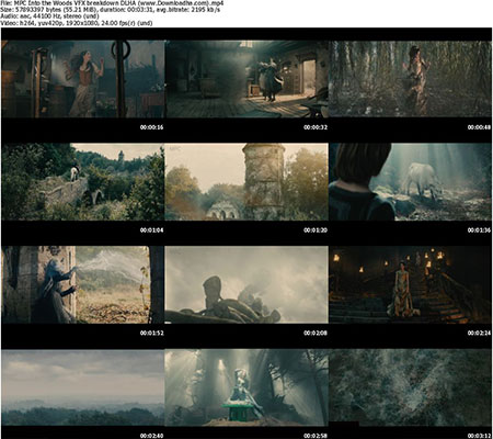 MPC Into the Woods VFX breakdown DLHA %28www.Downloadha.com%29 s پشت صحنه ی ساخت جلوه های ویژه فیلم و انیمیشن ها به سوی جنگل – Into the Woods 2014