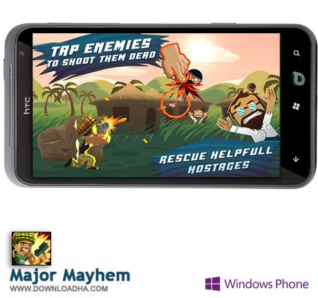 دانلود بازی Major Mayhem – ویندوز فون