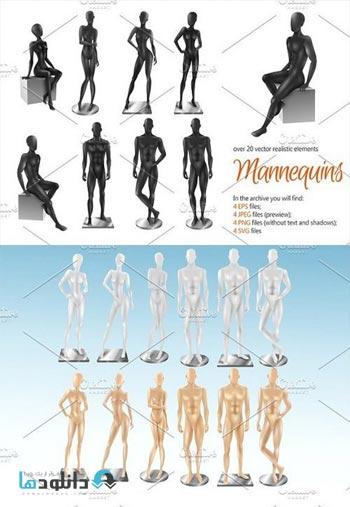 Mannequins-Realistic-Set