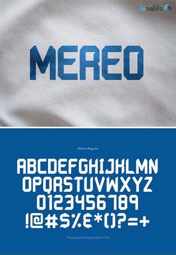 Mereo-Display-Font