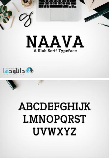 Naava-A-Slab-Serif-Typeface