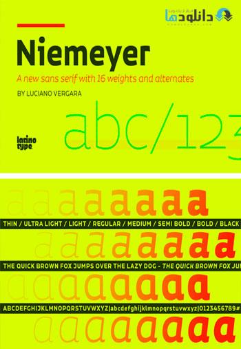 Niemeyer-Font-Family