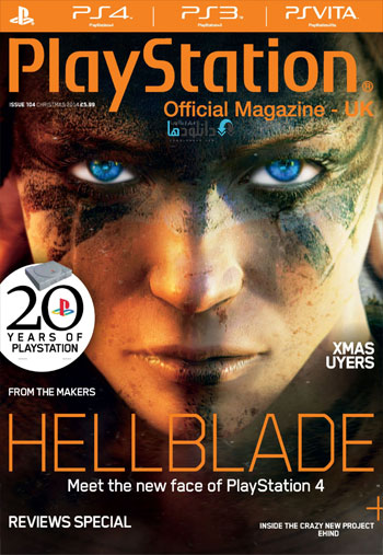OMP  دانلود مجله Playstation Official Magazine UK – Christmas 2014