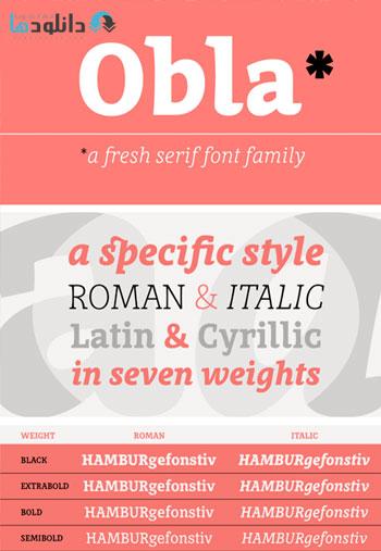 Obla-Font-Family