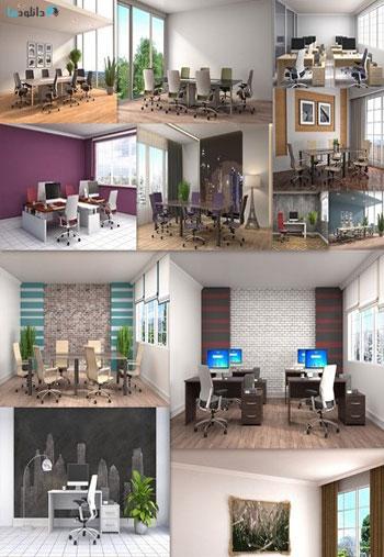 Office-interior-3D-illustra