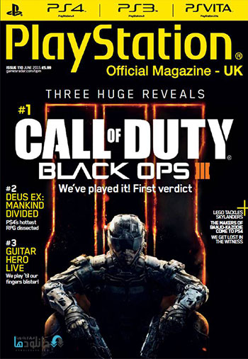 Official PlayStation Magazine UK June 2015 دانلود مجله ۲۰۱۵ Playstation Official Magazine UK – Jun