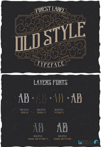 Old-Style-Label-typeface