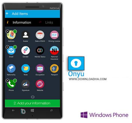 Onyu دانلود  برنامه Onyu    ویندوز فون