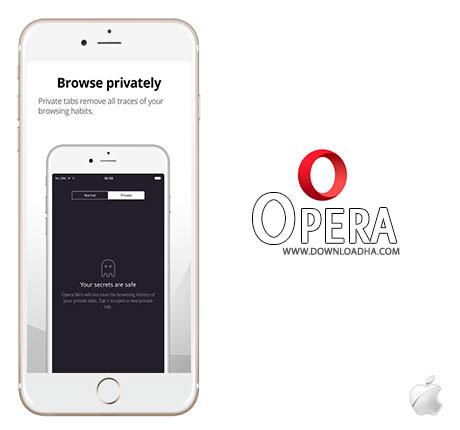 Opera مرورگر اپرا Opera 11.0.0 – آیفون آیپد آیپاد