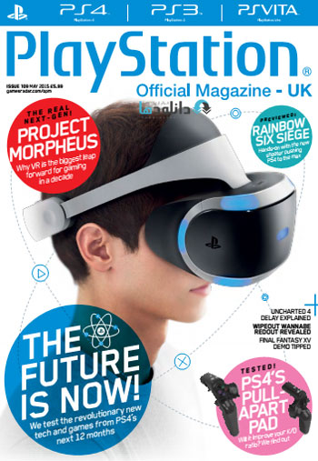 PLAY 360 942 دانلود مجله ۲۰۱۵ Playstation Official Magazine UK – May