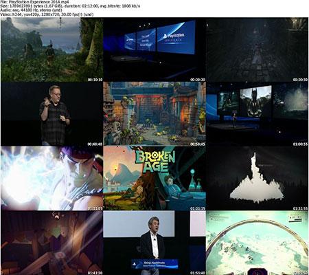 PSX SC دانلود مراسم PlayStation Experience 2014
