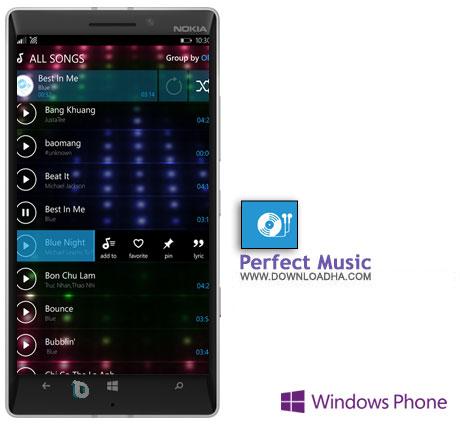Perfect Music دانلود  برنامه Perfect Music   ویندوز فون