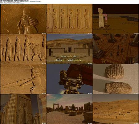 Persepolis Recreated %28www.Downloadha.com%29 s دانلود مستند شکوه تخت جمشید 2005 Persepolis Recreated