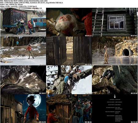 Peter & the Wolf %282006%29 %28www.Downloadha دانلود انیمیشن کوتاه پیتر و گرگ 2006 Peter & the Wolf