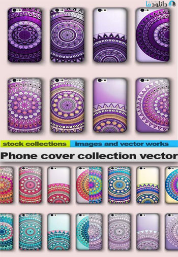 Phone-cover-collection-vector