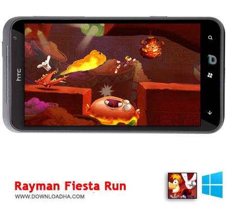 Rayman Fiesta Run 2014 دانلود  بازی Rayman Fiesta Run   ویندوز فون