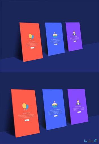 Realistic-App-Screen-Mock-u