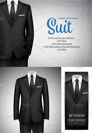 Realistic-Male-Suit-Set