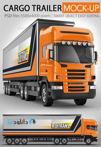 Road-train,-Trailer-Truck-mock-up