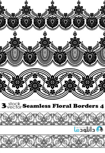 Seamless-Floral-Borders-4-Vector