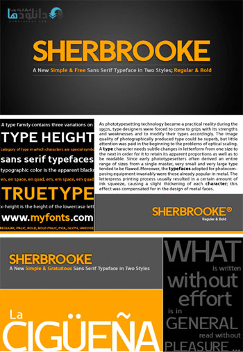 Sherbrooke-Font-Family