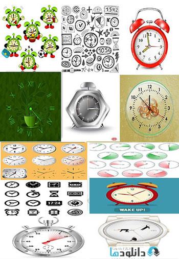 Shutterstock Alarm Clock Ti دانلود تصاویر وکتور Shutterstock Alarm Clock Time Watch