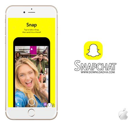 Snapchat برنامه اشتراک گذاری تصاویر Snapchat 9.35.1.0 – آیفون آیپد آیپاد