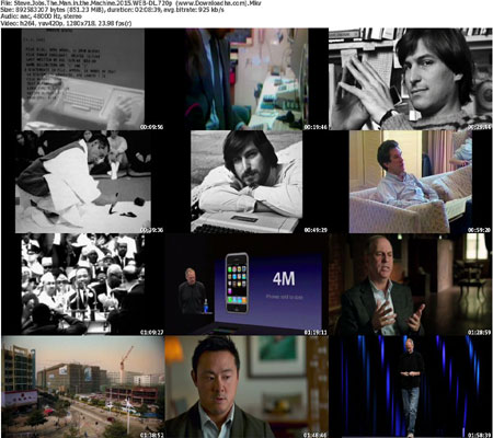 Steve.Jobs.The.Man.in.the.M دانلود مستند ۲۰۱۵ Steve Jobs: The Man in the Machine