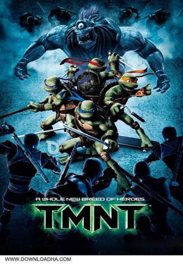 TMNT2007poster  دانلود انیمیشن لاک پشت های نینجا – TMNT 2007