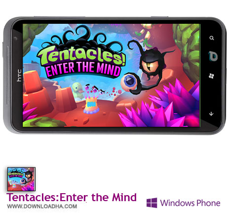 TentaclesEnter the Mind دانلود  بازی Tentacles:Enter the Mind   ویندوز فون