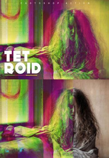 Tetroid-Photoshop-Action
