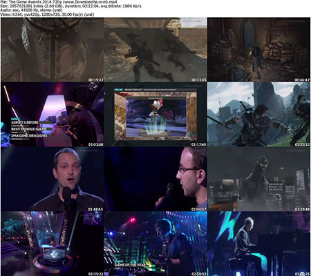 The Game Awards 2014 720p دانلود مراسم  The Game awards 2014