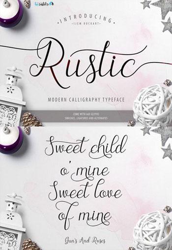 The-Rustic-Script-Font