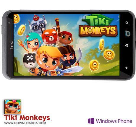 دانلود بازی Tiki Monkeys – ویندوز فون