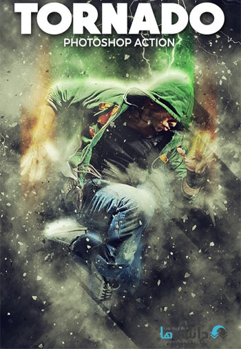 Tornado-Photoshop-Action