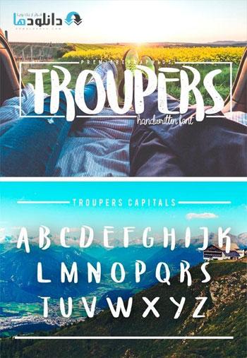 Troupers-Font