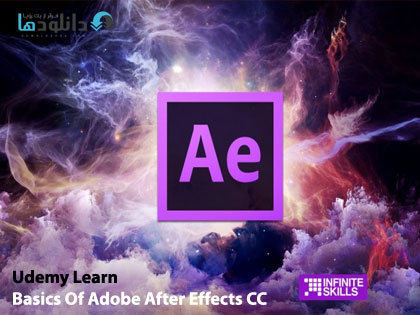 Udemy Learn Basics Of Adobe دانلود ویدیو ی آموزشی  Udemy Learn Basics Of Adobe After Effects CC For Beginners