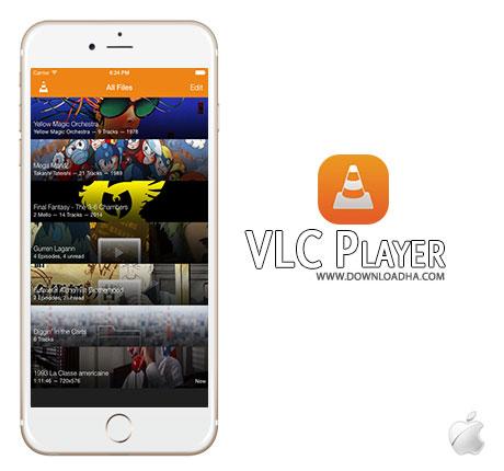VLC  پلیر وی ال سی VLC for Mobile 2.7.6 – آیفون آیپد آیپاد