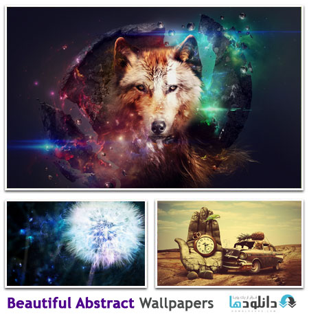 مجموعه ۱۵۰ والپیپر متنوع انتزاعی – Beautiful Abstract HD Wallpapers