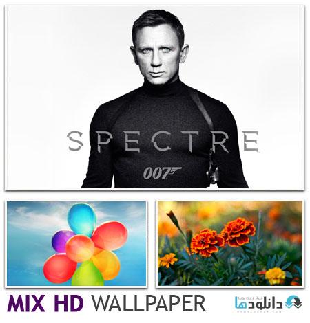 WALLPAPER S9403 مجموعه ۲۳ والپیپر با موضوع مختلف – HD Mix Wallpaper