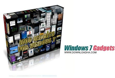 Windows 7 Gadgets مجموعه ۹۰۰ گدجت ویندوز سون Windows 7 Gadgets