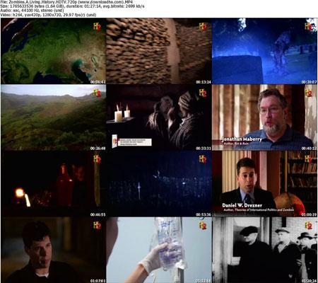 Zombies.A.Living.History.HD  دانلود مستند Zombies: A Living History 2011