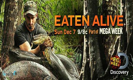 eaten alive poster دانلود مستند ۲۰۱۴ Eaten Alive Anaconda