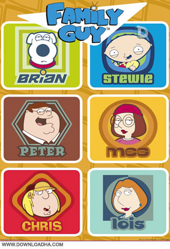 familyguysquares دانلود انیمیشن سریالی مرد خانواده – Family Guy 2003