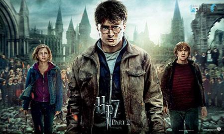 harry potter پشت صحنه ی ساخت جلوه های ویژه فیلم و انیمیشن ها  فیلم سینمایی Harry Potter and the Deathly Hallows Part 2