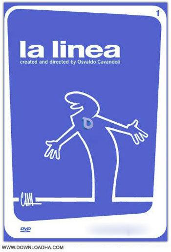 lalinea  دانلود انیمیشن سریالی آقای خط – ۱۹۷۲ La Linea