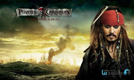 pirates of the caribbean on پشت صحنه ی ساخت جلوه های ویژه فیلم و انیمیشن ها   فیلم سینمایی Pirates of the Caribbean: On Stranger Tides