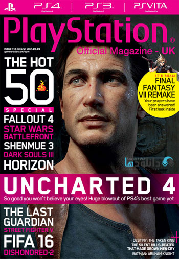 play 2015 aug دانلود مجله ۲۰۱۵ Playstation Official Magazine UK – August