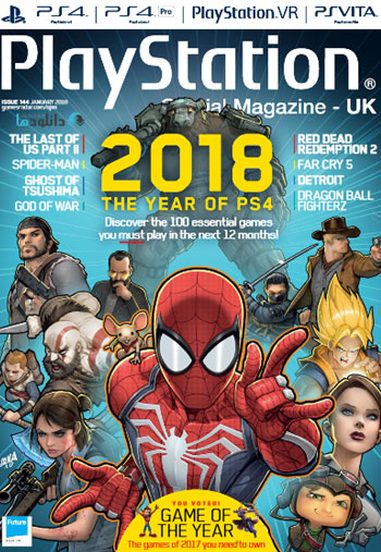 Playstation Official Magazine February 2018